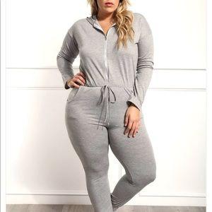 Pants - Gray jumpsuit